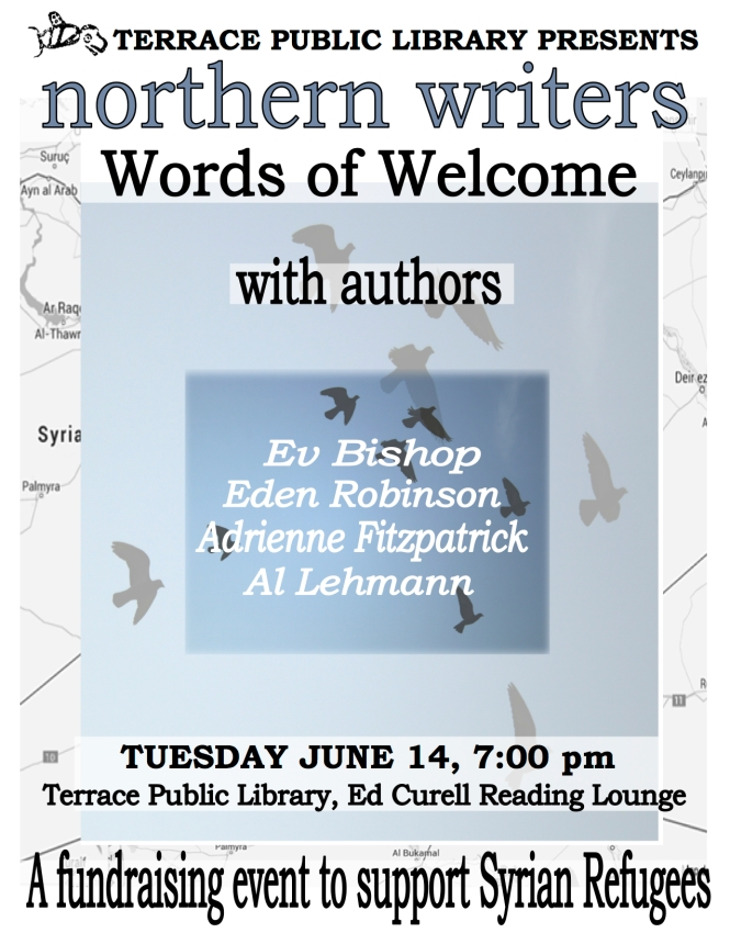 Words of Welcome_Syrian Refugee Fundraiser Reading