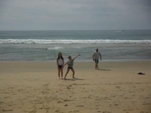 Ahhh, Ocean! Photo Copyright Ev Bishop.