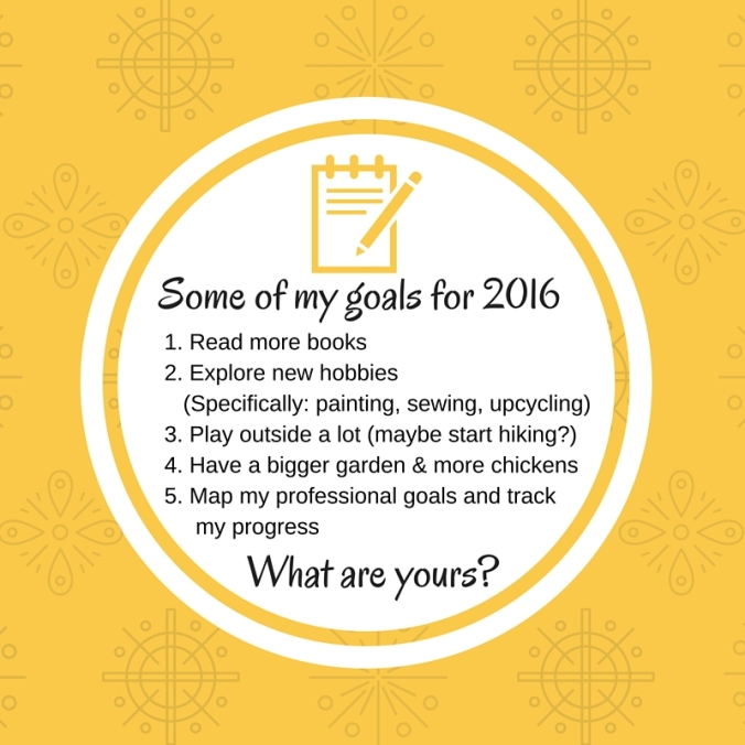 goals for 2016