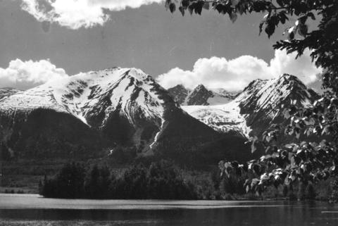 Gorgeous Hudson Bay Mountain, casting the shadow the radio show is named for. :) Photo by Major James Skitt Matthews. Click the image for more info.